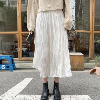 ZARA - クシュクシュ スカート 【2color】  即日発送