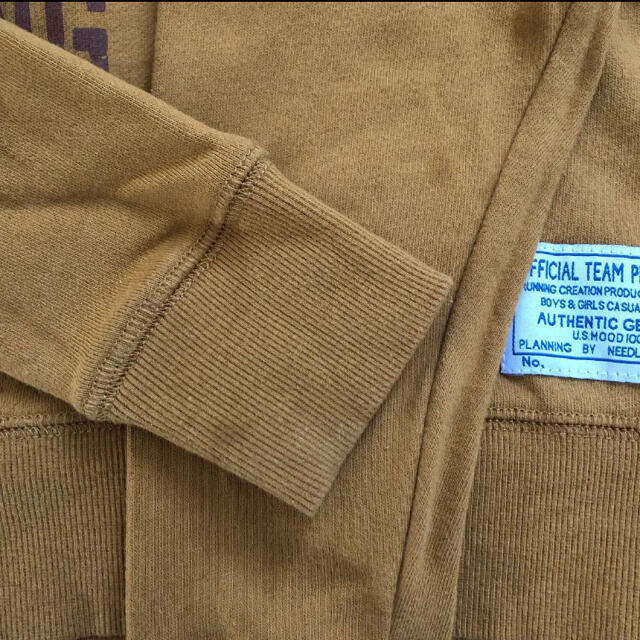 NEEDLE WORK SOON(ニードルワークスーン)のオフィシャルチーム トレーナー110 キッズ/ベビー/マタニティのキッズ服男の子用(90cm~)(Tシャツ/カットソー)の商品写真