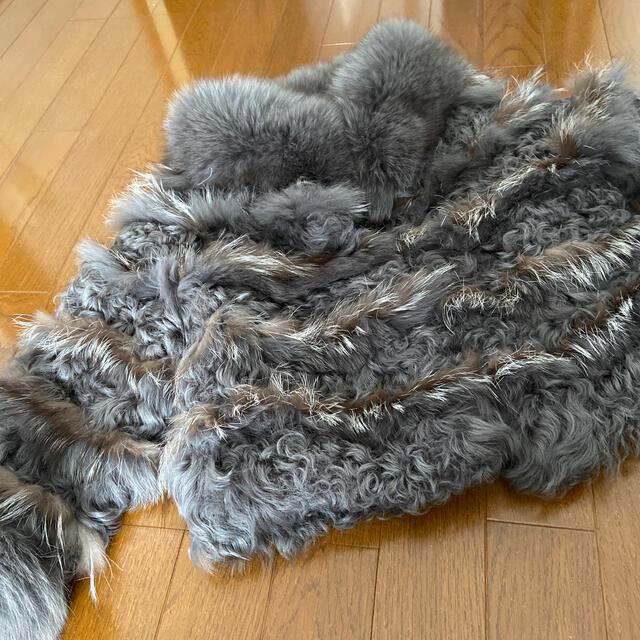 GRACE CONTINENTAL(グレースコンチネンタル)のグレースコンチネンタル ファーコート  レディースのジャケット/アウター(毛皮/ファーコート)の商品写真