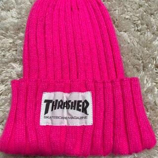 スラッシャー(THRASHER)のTHRASHER ニット ビーニー 帽子(ニット帽/ビーニー)