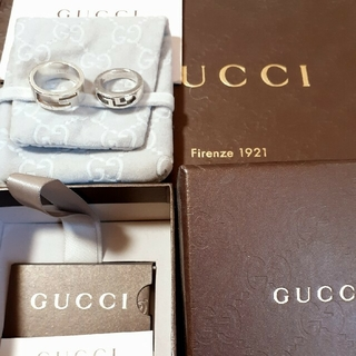 Gucci - GUCCI silverリングセット