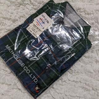 DOUBLE.B - 【SALE】ミキハウス 70%オフ以下110 チェック柄がおしゃれなシャツ