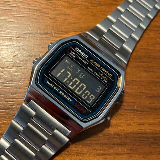 カシオ(CASIO)の【新品】カシオ CASIO チープカシオ a158w 腕時計 カスタム 液晶反転(腕時計(デジタル))