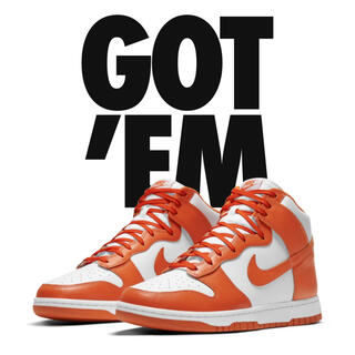 "NIKE - NIKE DUNK HIGH RETRO ""Orange Blaze"""