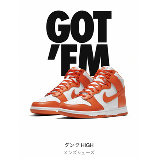 NIKE - 新品 28.5 / NIKE DUNK HIGH SP SYRACUSE
