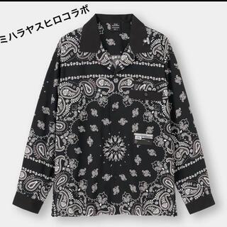 GU - GU×ミハラヤスヒロ ボウリングシャツ