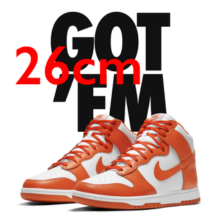 "NIKE - NIKE DUNK HIGH ""ORANGE BLAZE"" 26.0cm"