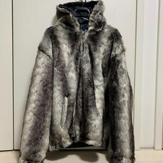 シュプリーム(Supreme)のsupreme フェイクファージャケット XL Faux Fur Jacket(ブルゾン)