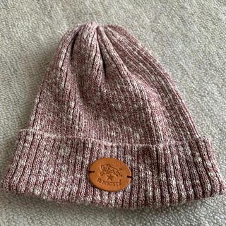 イルビゾンテ(IL BISONTE)のイルビゾンテ ニット帽(ニット帽/ビーニー)
