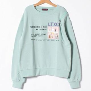 lovetoxic - 【新品】lovetoxic ラブトキシック タピオカ肩スリットトレーナーM150