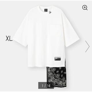 MIHARAYASUHIRO - GU フハクコンビネーションT(5分袖)MY +E