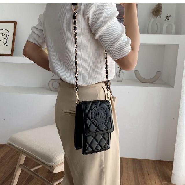 ロゴ ミニ ショルダーバッグ レディースのバッグ(ショルダーバッグ)の商品写真