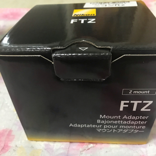 Nikon - ニコン FTZ マウントアダプター