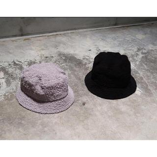Needles - 「NEEDLES」 Bucket Hat Cotton Pile  /BLACK