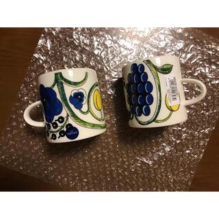 アラビア(ARABIA)のアラビア パラティッシ マグカップ  2個(グラス/カップ)