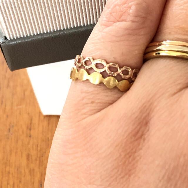 KAORU(カオル)のはなぽん様専用 kaoru スパングルリング 10k レディースのアクセサリー(リング(指輪))の商品写真