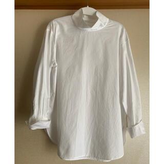 23区 - 今期極美品♡23区S CANCLINIスタンドカラーシャツ・白♡32サイズ