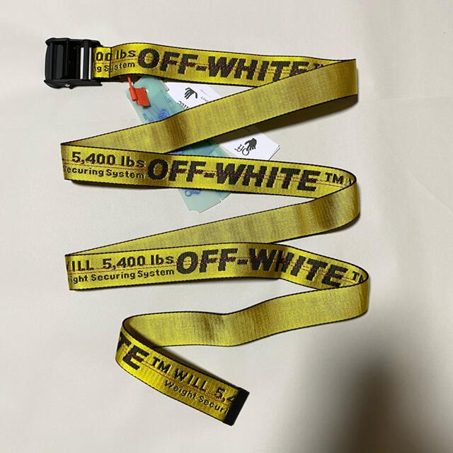 OFF-WHITE(オフホワイト)の新品未使用!送料込み★Off-White★ロゴ ナイロン ベルト メンズのファッション小物(ベルト)の商品写真