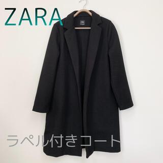 ZARA - ZARAラペル付きコート L