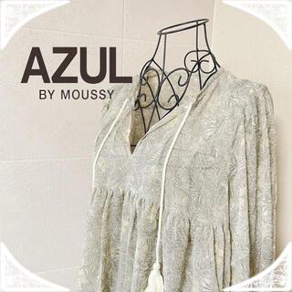 AZUL by moussy - AZULアズール⭐︎通販完売商品!サンガードシースルーブラウスレディース