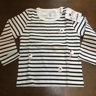 グラニフ(Design Tshirts Store graniph)の最終値下げ!グラニフ ゲゲゲの鬼太郎 長袖Tシャツ ボーダー 100サイズ(Tシャツ/カットソー)