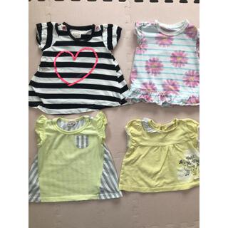Branshes - 80半袖 Tシャツ 4点セット 半袖Tシャツ ブランシェス