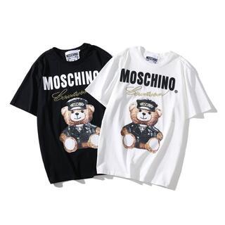 MOSCHINO -  モスキーノ#2107 ベア Tシャツ男女兼用 2枚8000円送料込み
