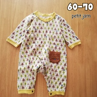 Petit jam - 60 70 Petit jam(プチジャム)  ロンパース 長袖