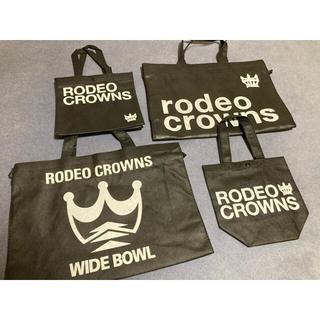 ロデオクラウンズ(RODEO CROWNS)のRodeoCrowns ショッパー セット / ロデオクラウンズショップ袋(ショップ袋)