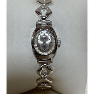 ラドー(RADO)のRADO ELFE K14WG 手巻き時計 ジャンク品(腕時計)
