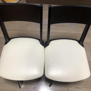 ニトリ(ニトリ)の引取限定!ニトリの椅子二脚(ダイニングチェア)