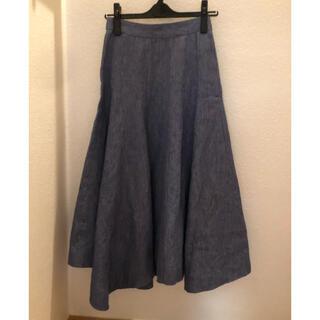 Drawer - BLAMINK ブラミンク デニム  フレア スカート  36