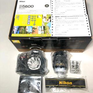 ニコン(Nikon)の新品未使用 Nikon D5600 AF-P18-55レンズKITメーカー保証付(デジタル一眼)