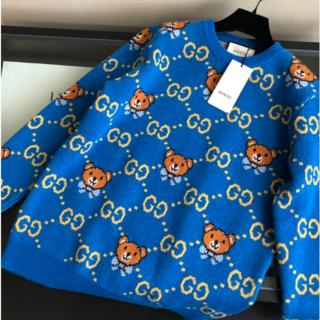 Gucci - 新作 GUCCI  GGロゴ ニット セーター M