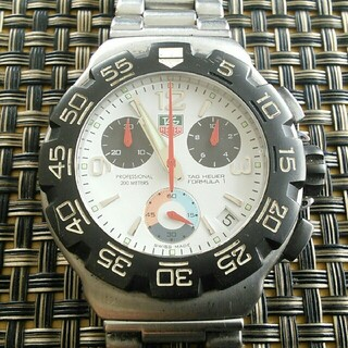 TAG Heuer - TAG Heuer タグホイヤー フォーミュラ1 クロノグラフ メンズ 腕時計
