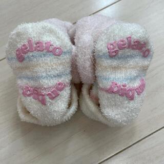 ジェラートピケ(gelato pique)の新品♡ジェラピケ・ベビー靴下♡(肌着/下着)