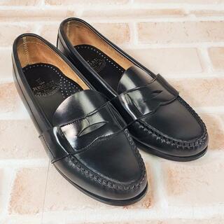 REGAL - リーガル REGAL ☆ レザー コイン ローファー 24.5 ブラック 革靴