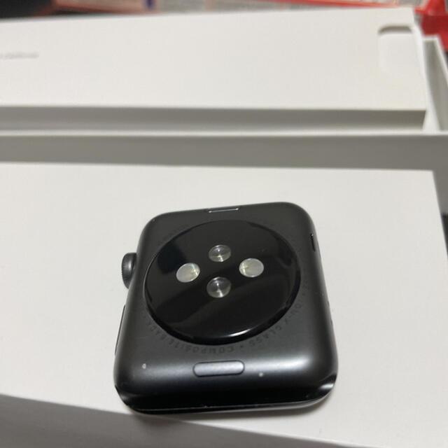 Apple Watch(アップルウォッチ)の美品 apple watch 42mm ブラック アップルウォッチ GPSモデル メンズの時計(腕時計(デジタル))の商品写真