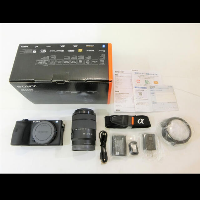 SONY(ソニー)のほぼ新品 SONY α6600 高倍率ズームレンズキット スマホ/家電/カメラのカメラ(ミラーレス一眼)の商品写真