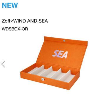 シー(SEA)のラスト1点 即日発送 Zoff×WIND AND SEA ケース(その他)