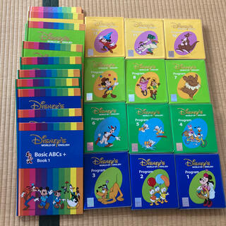 Disney - DWE ディズニー英語システム DVD+教材全12冊
