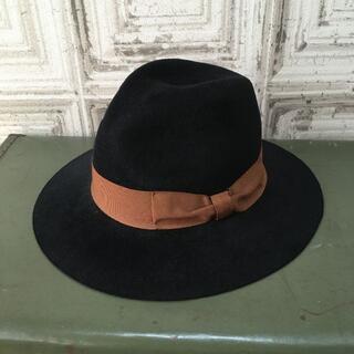 ユナイテッドアローズ(UNITED ARROWS)のイタリア製 BRONTE ブロント 帽子 USED(ハット)