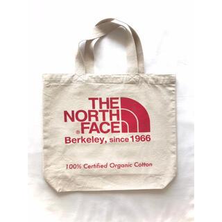 THE NORTH FACE - 【新品】ノースフェイス『オーガニックコットントートバッグ』エコバッグ/生成り