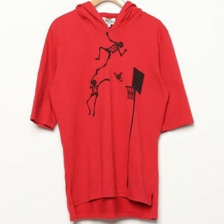Vivienne Westwood - Vivienne Westwood MAN スカル オーブ フーディー Tシャツ