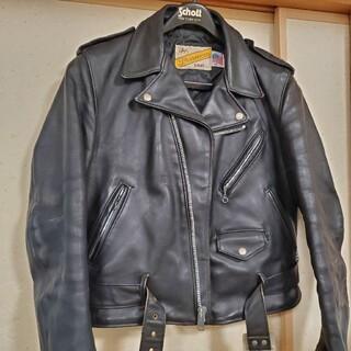ショット(schott)のSchott ライダースジャケット ワンスター メンズ40サイズ 613(ライダースジャケット)