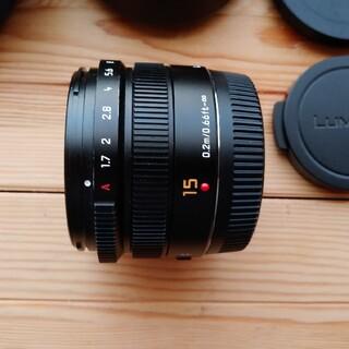 Panasonic - Panasonic LEICA DG SUMMILUX 15mm F1.7