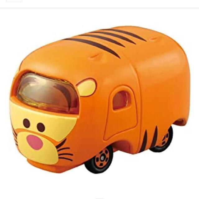 Takara Tomy(タカラトミー)のトミカ ディズニーモータース ツムツム ティガー ツム エンタメ/ホビーのおもちゃ/ぬいぐるみ(ミニカー)の商品写真