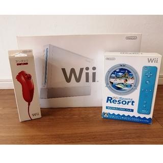 Wii - 任天堂 wii本体一式 +Wii Sports Resort
