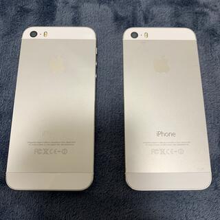 Apple - iPhone 5s 本体 2台セット
