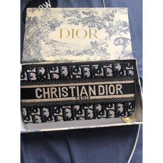 クリスチャンディオール(Christian Dior)のロングジップウォレット ディオール オブリーク ジャカード(財布)